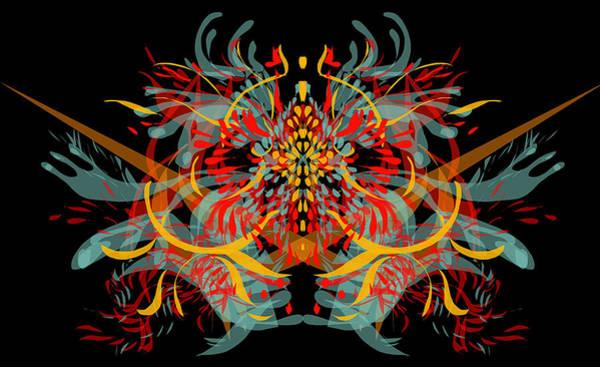 Hana Digital Art - Creative Flash by Hana Dutina