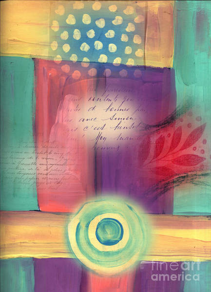 Wall Art - Mixed Media - Creative Thinking Chakra by Elaine Jackson