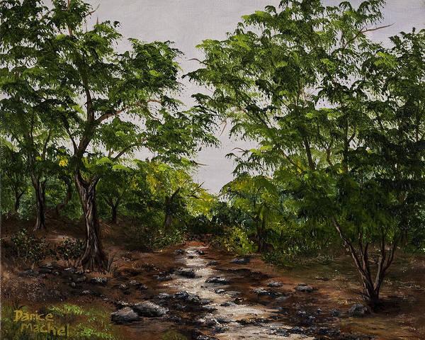 Painting - Creek At Oregon City Ca by Darice Machel McGuire