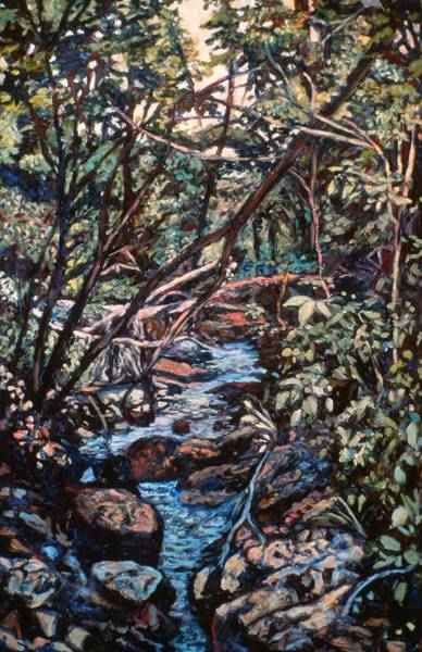 Painting - Creek Near Smart View by Kendall Kessler