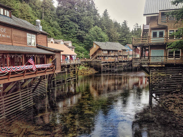 Photograph - Creek Street by Pat Moore