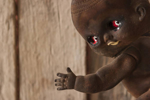 Photograph - Creepy Baby by Scott Campbell