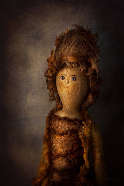 Photograph - Creepy - Doll - Matilda by Mike Savad