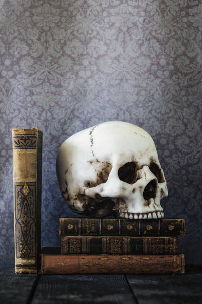 Wall Art - Photograph - Creepy Library by Joana Kruse