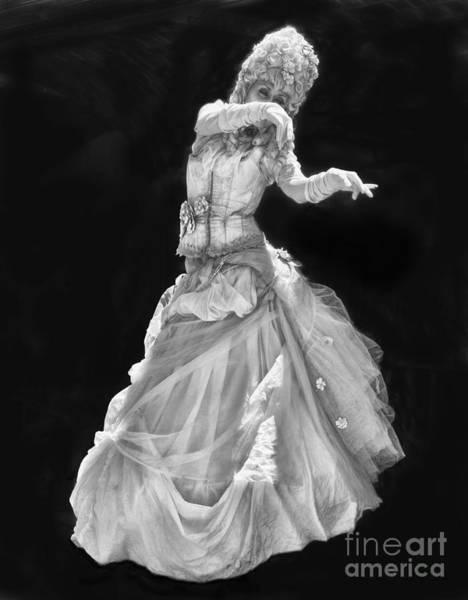 Photograph - Creepy Statue Lady By Diana Sainz by Diana Raquel Sainz