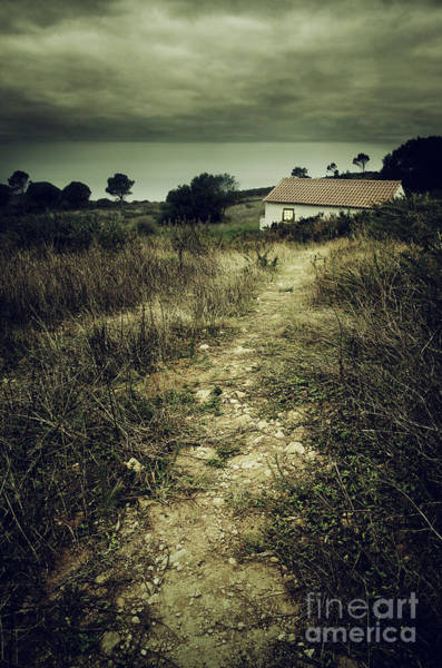 Chalet Photograph - Creepy Trail by Carlos Caetano