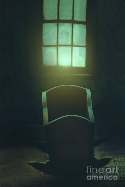 Photograph - Creepy Wooden In Front Of Window by Sandra Cunningham