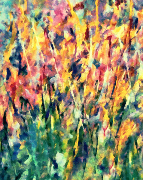 Crescendo Of Spring Abstract Art Print