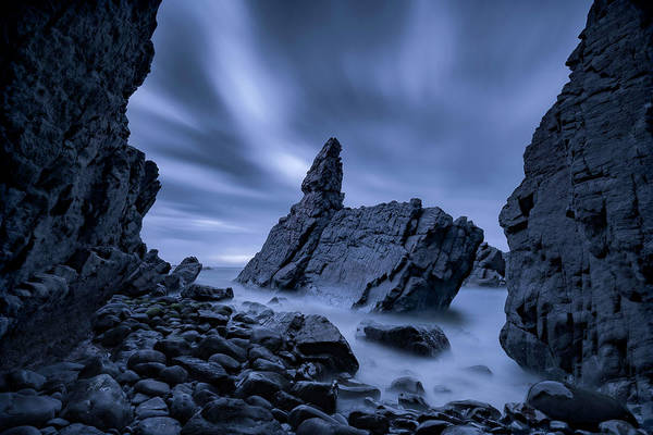 Cloudy Photograph - Crescent Head by Jingshu Zhu