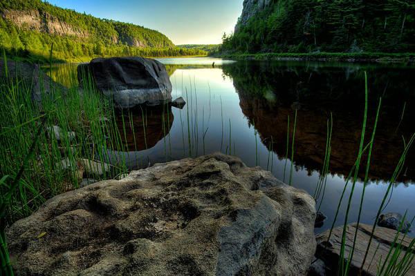 Canon Eos 6d Photograph - Crescent Lake Sunset by Jakub Sisak