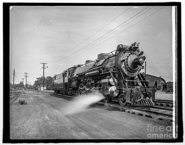 Photograph - Crescent Locomotive 1 by Russell Brown