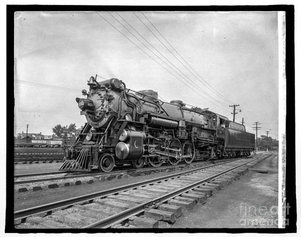 Photograph - Crescent Locomotive 2 by Russell Brown