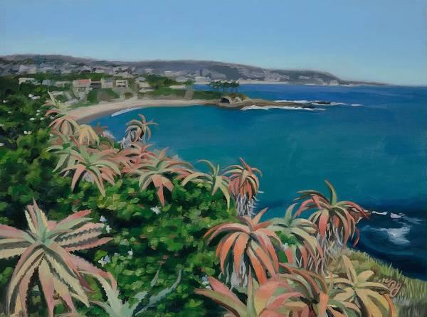 Laguna Beach Painting - Cresent Bay by Nadia Jaime