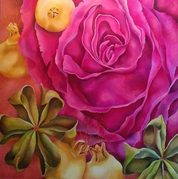Wall Art - Painting - Crespon by Elizabeth Elequin