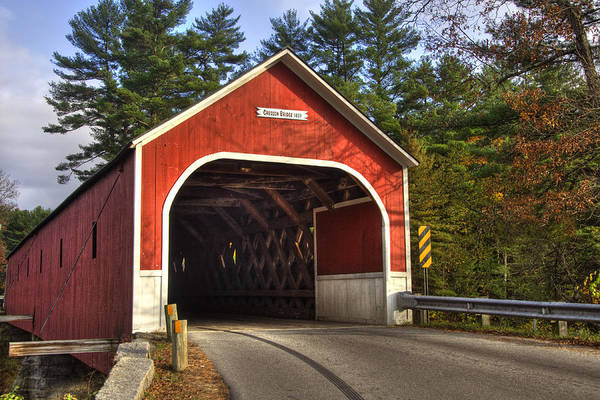 Photograph - Cresson Covered Bridge 2 by Joann Vitali