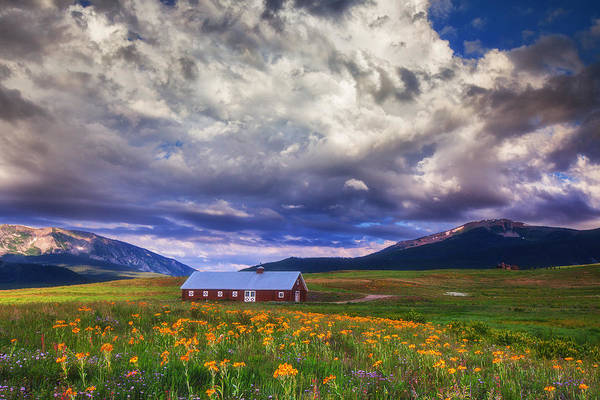 Photograph - Crested Butte Morning Storm by Darren  White
