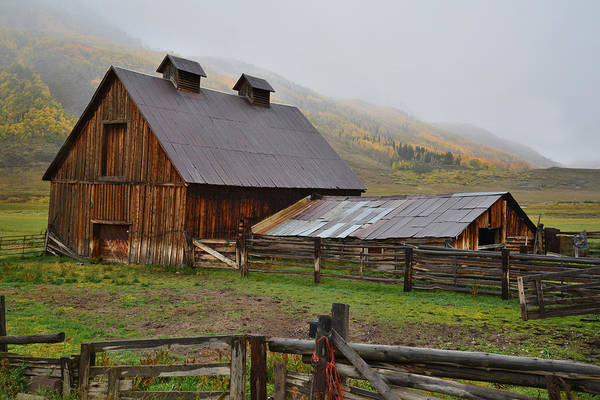 Photograph - Crested Butte Ranch by Ray Mathis