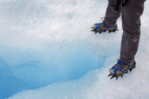 Crevasses Photograph - Crevasse by Steve Allen/science Photo Library