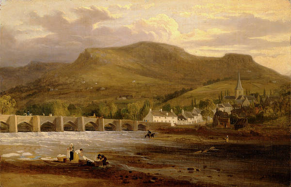 Wall Art - Painting - Crickhowell, Breconshire Signed by Litz Collection