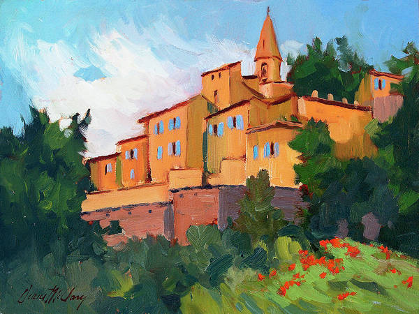 Braves Painting - Crillon Le Brave by Diane McClary