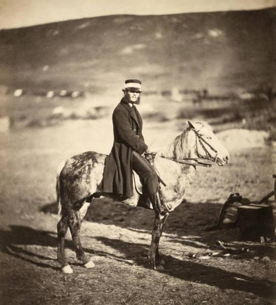 Wall Art - Photograph - Crimean War Postmaster by Granger