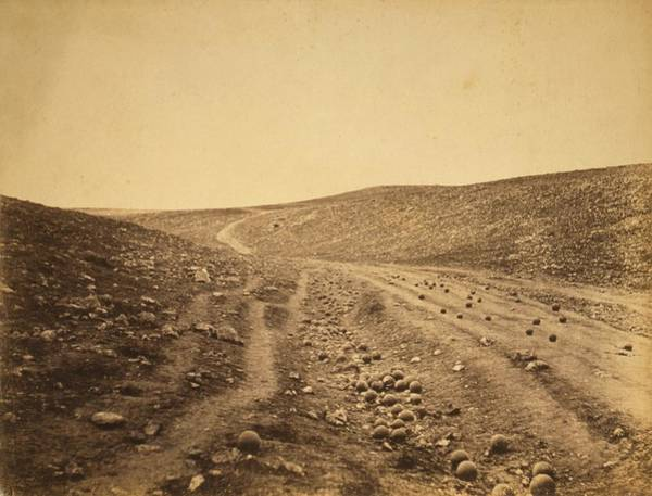 Death Valley Photograph - Crimean War 'valley Of Death' by Library Of Congress
