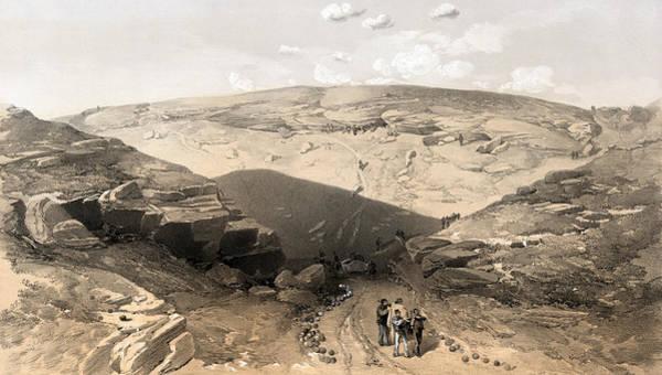 Death Valley Painting - Crimean War Vorontsov Road by Granger