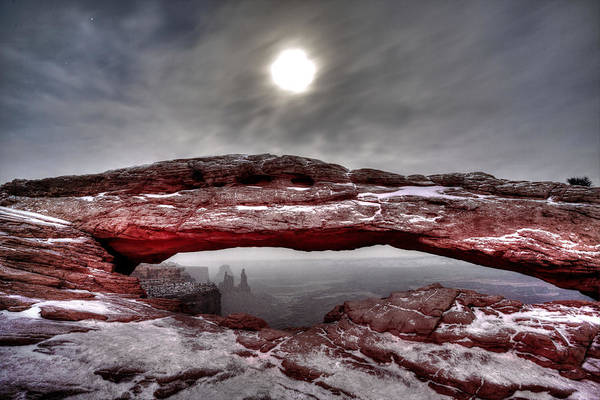 Photograph - Crimson Arch by David Andersen