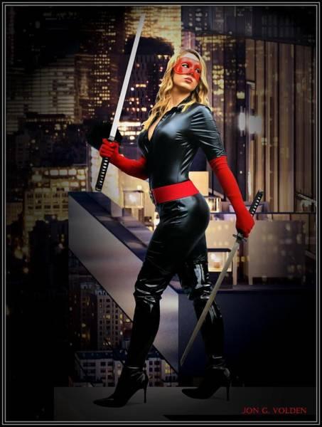 Photograph - Crimson Avenger The Penthouse Watch by Jon Volden