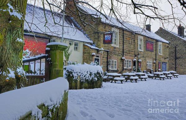 Photograph - Crispin Inn At Ashover by David Birchall