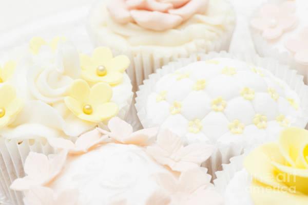 Fairy Cake Wall Art - Photograph - Criss-cross Cupcake by Anne Gilbert