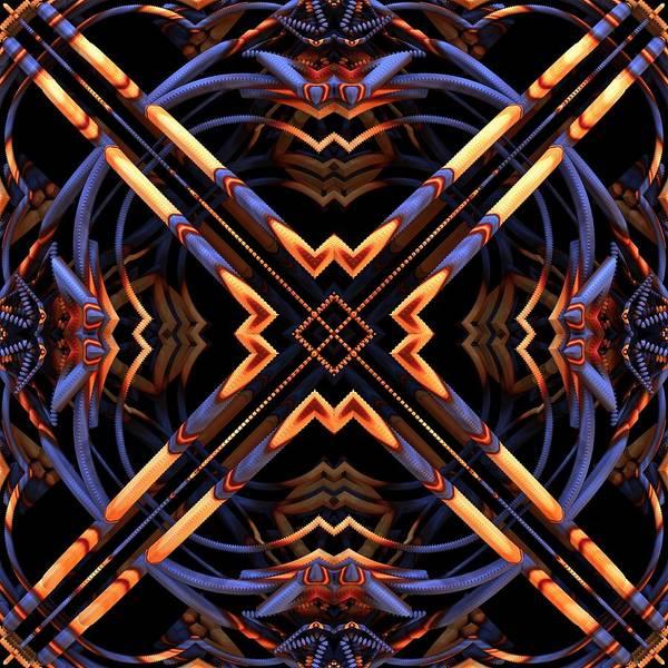 Wall Art - Digital Art - Criss Cross by Lyle Hatch