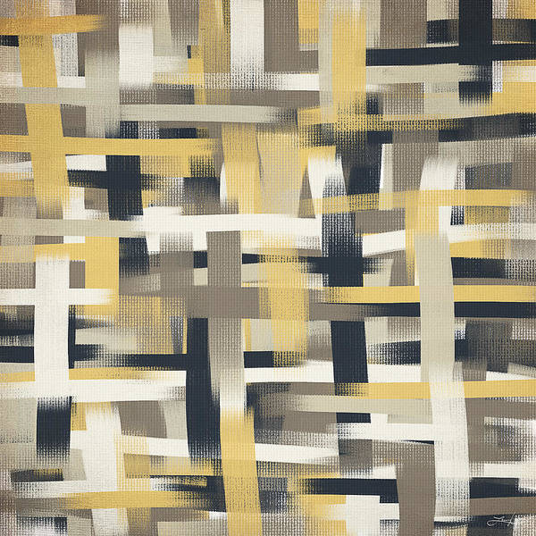 Painting - Crisscross Patch by Lourry Legarde