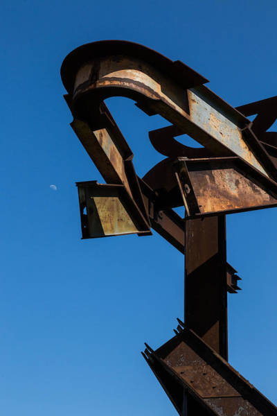 Photograph - Crissy Fields Steel Sculpture  by Michael Hope