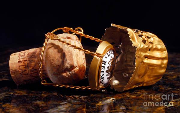 Gold Photograph - Cristal Cork Granite by Jon Neidert