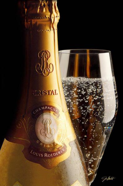 Wine Barrels Photograph - Cristal Party by Jon Neidert