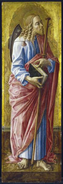 Wall Art - Painting - Crivelli Saint James, 1472 by Granger