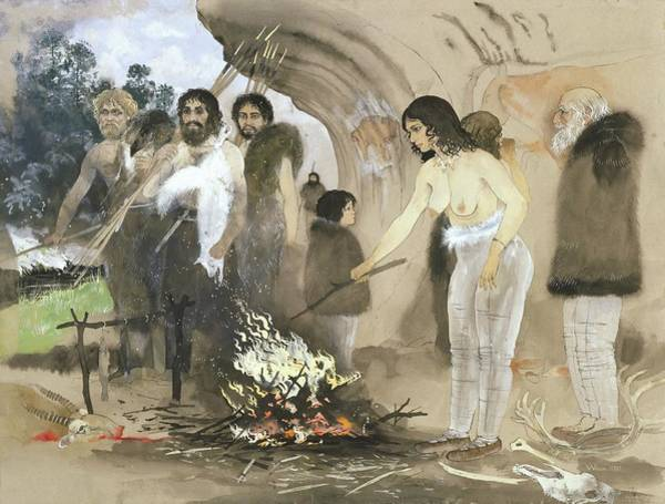 Homo Sapiens Photograph - Cro-magnon Culture by Natural History Museum, London/science Photo Library