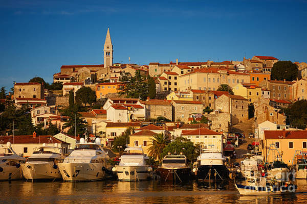 Photograph - Croatian Harbor In The Early Evening Light by Nick  Biemans
