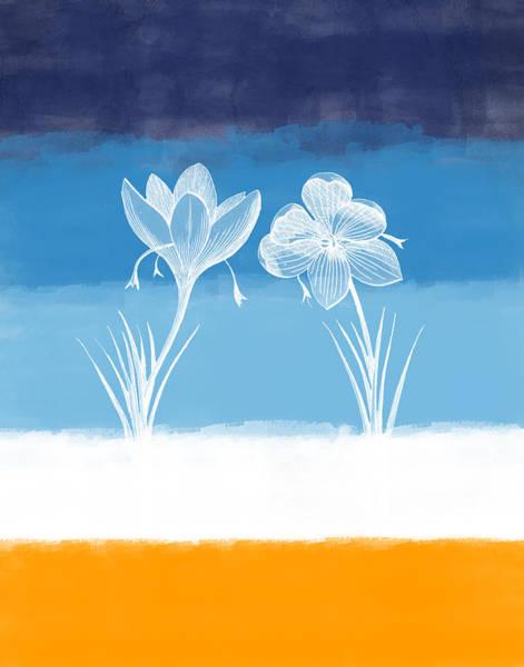 Crocus Wall Art - Digital Art - Crocus Flower by Aged Pixel