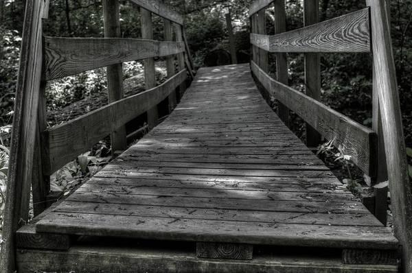 Photograph - Crooked Bridge by Michael Colgate