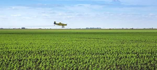 Biological Pest Control Photograph - Crop Dusting by Jim West