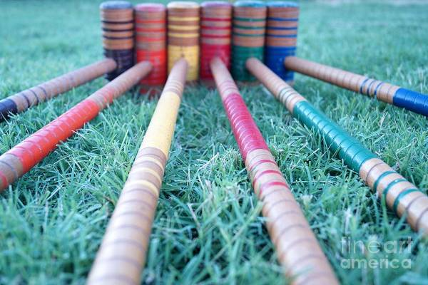 Photograph - Croquet Anyone by Kerri Mortenson