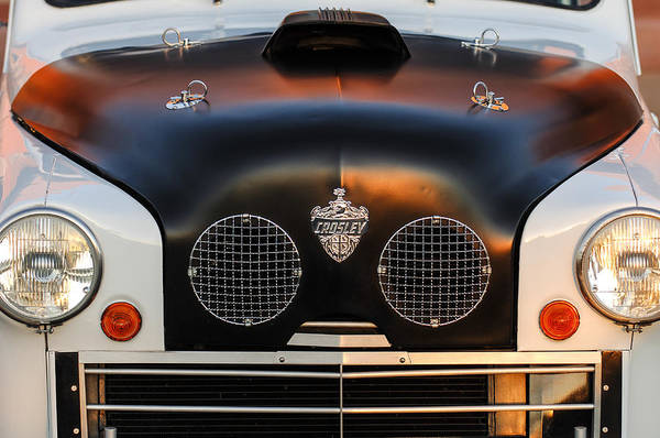 Photograph - Crosley Front End by Jill Reger