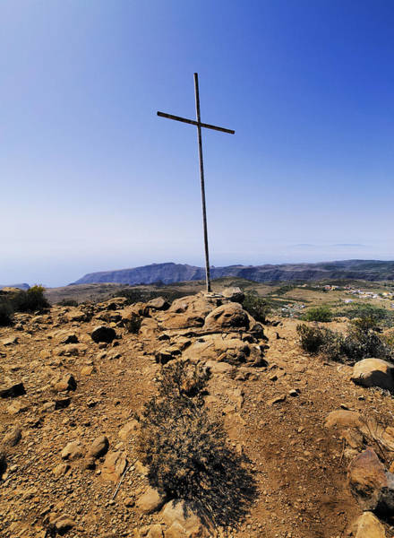 La Gomera Wall Art - Photograph - Cross by Karol Kozlowski