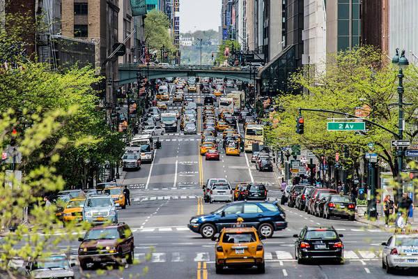 Photograph - Cross Manhattan - 42nd Street by James Howe