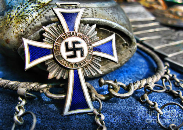 Photograph - Cross Of Honor Of The German Mother by Daliana Pacuraru