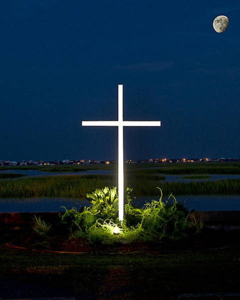 Photograph - Cross On The Inlet by Bill Barber