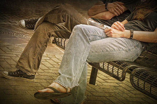 Photograph - Crossed Legs by Randall Nyhof