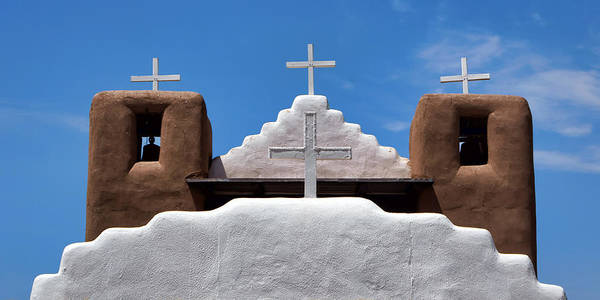 Wall Art - Photograph - Crosses - San Geronimo by Nikolyn McDonald